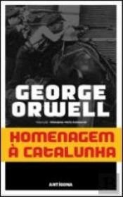 book cover of Homage to Catalonia by George Orwell