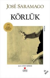 book cover of Körlük by José Saramago