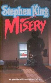 book cover of Misery by Stephen King