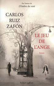 book cover of The Angel's Game by Carlos Ruiz Zafón