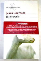 book cover of Intemperie by Jesús Carrasco