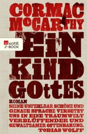 book cover of Ein Kind Gottes by Cormac McCarthy