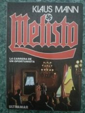 book cover of Mefisto by Klaus Mann