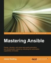 book cover of Mastering Ansible by Jesse Keating (2015-12-01) by Jesse Keating