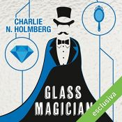 book cover of Glass Magician (Paper magician 2) by Charlie N. Holmberg