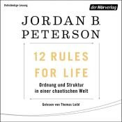 book cover of 12 Rules For Life by Jordan B Peterson|Jordan B. Peterson|Norman Doidge MD - foreword