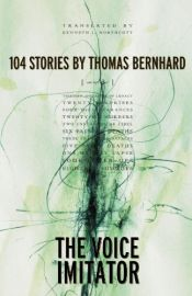 book cover of The voice imitator by Thomas Bernhard