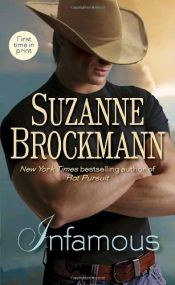 book cover of Infamous by Suzanne Brockmann
