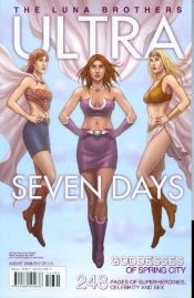 book cover of Ultra: Seven Days by Jonathan Luna|Joshua Luna