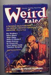 book cover of Weird Tales by Peter Haining (ed)