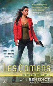 book cover of Lies & Omens by Lyn Benedict