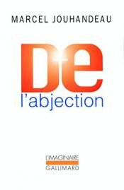 book cover of De l'abjection by Marcel Jouhandeau