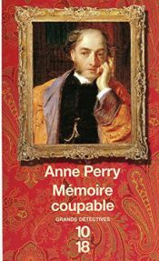 book cover of MEMOIRE COUPABLE by Anne Perry