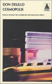 book cover of Cosmópolis by Don DeLillo