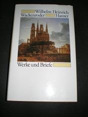 book cover of Werke und Briefe by Wilhelm Heinrich Wackenroder