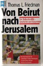 book cover of Von Beirut nach Jerusalem by Thomas L. Friedman