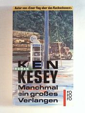 book cover of Manchmal ein großes Verlangen by Ken Kesey
