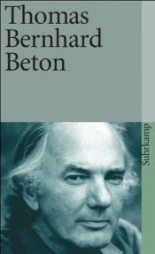book cover of Betão by Thomas Bernhard