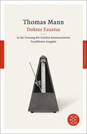 book cover of Doktor Faustus by Thomas Mann