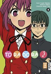 book cover of Toradora! 02 by Yuyuko Takemiya|Zekkyou