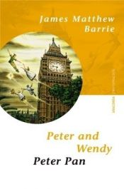 book cover of Peter and Wendy by J. M. Barrie