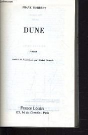 book cover of Chapterhouse: Dune by Frank Herbert