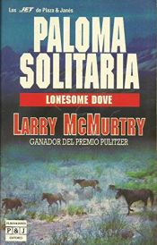 book cover of Paloma solitaria by Larry McMurtry