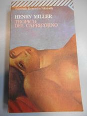 book cover of Tropico del Capricorno by Henry Miller