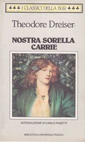 book cover of Nostra sorella Carrie by Theodore Dreiser
