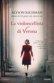 book cover of La violoncellista di Verona by Alyson Richman